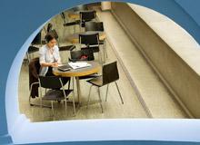 Studierende im Hörsaal KOH B-10