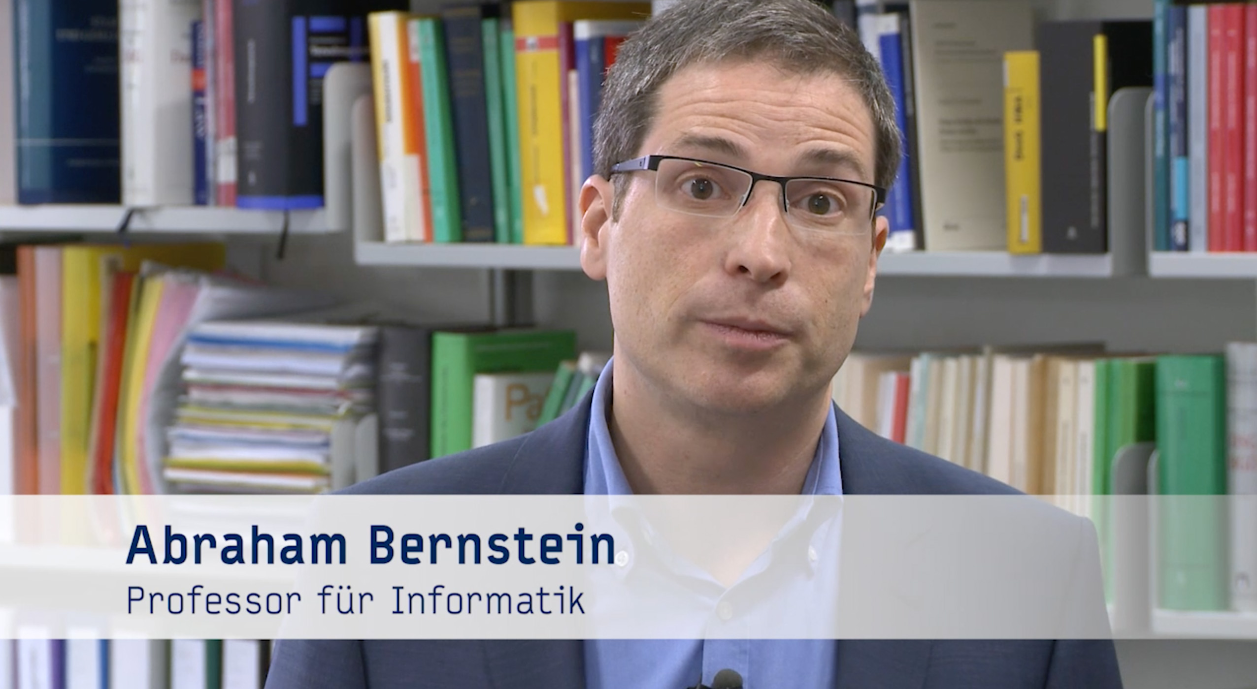 Video: Prof. Abraham Bernstein über die Digital Society Initiative
