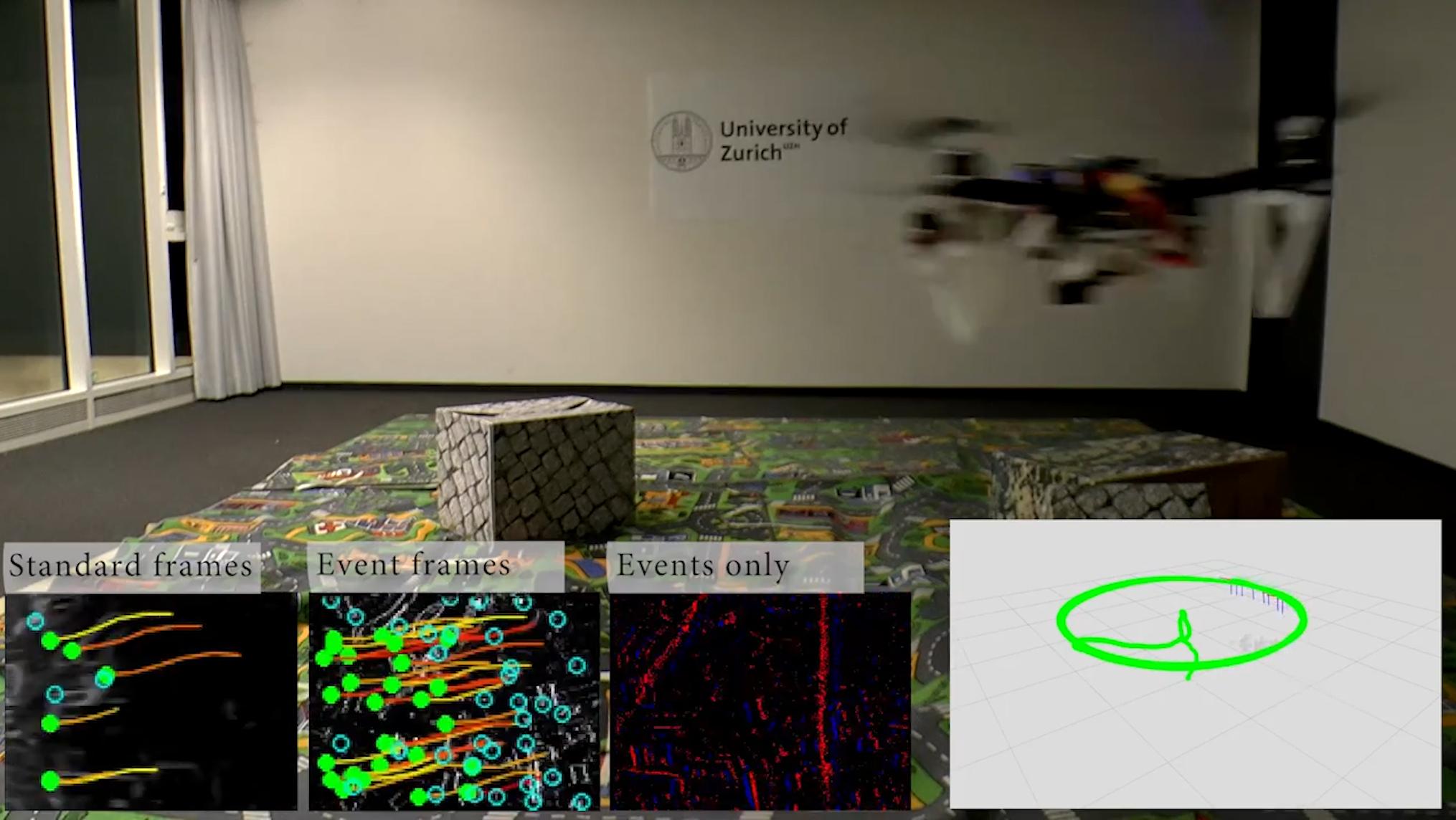 UZH - Drohnen sehen auch im Dunkeln