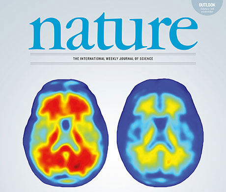 The picture shows the cover of the Nature issue of September 1, 2016