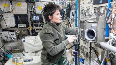 ESA-Astronautin Samantha Cristoforetti